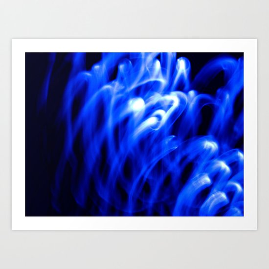 Nothing But Blue #1 Art Print