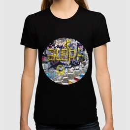 Sicilian Facade with Graffiti T-shirt
