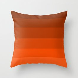 Pumpkin Spice in the Fall - Color Therapy Throw Pillow