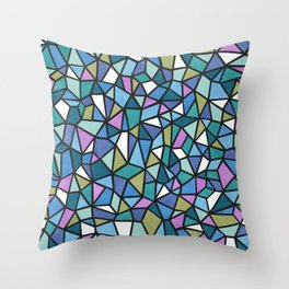 The Multi-Faceted Ocean Throw Pillow
