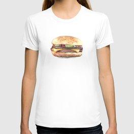 Color pencil Hamburger T-shirt