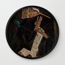 "Egon Schiele ""The Lyricist"" Wall Clock"