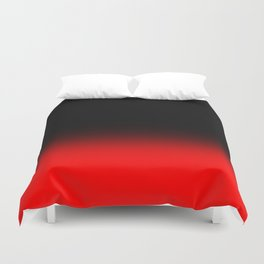 Fade To Red Duvet Cover