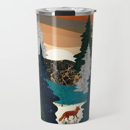 Amber Fox Travel Mug