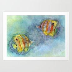 Plenty More Fish in the Sea Art Print
