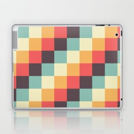 When dad was young - Pixel pattern in muted pastel colors Laptop & iPad Skin