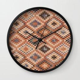 Arizona Southwestern Tribal Print Wall Clock