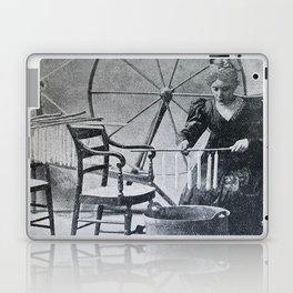 Antique candle making Laptop & iPad Skin