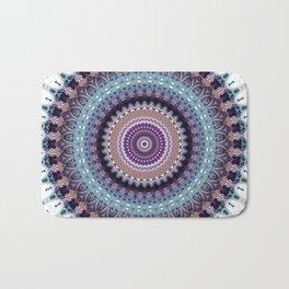 Mandala for Winter Mood Bath Mat