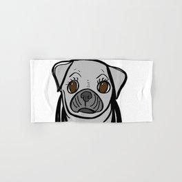 Pugs are us. Hand & Bath Towel