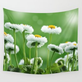 Daisy Flowers 094 Wall Tapestry