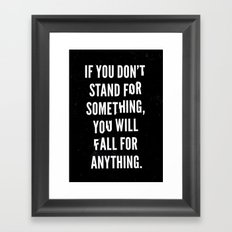 Stand Framed Art Print