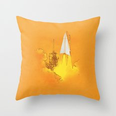 space cuts Throw Pillow