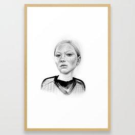 Freckley Framed Art Print
