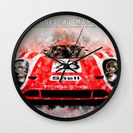 Hans Herrmann, 917 Le Mans Wall Clock
