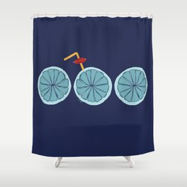 Everything is blue for me Shower Curtain