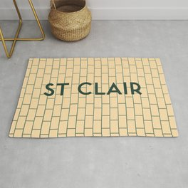 ST. CLAIR | Subway Station Rug