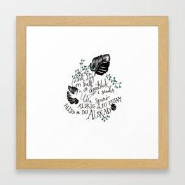 Lilla sparv Framed Art Print
