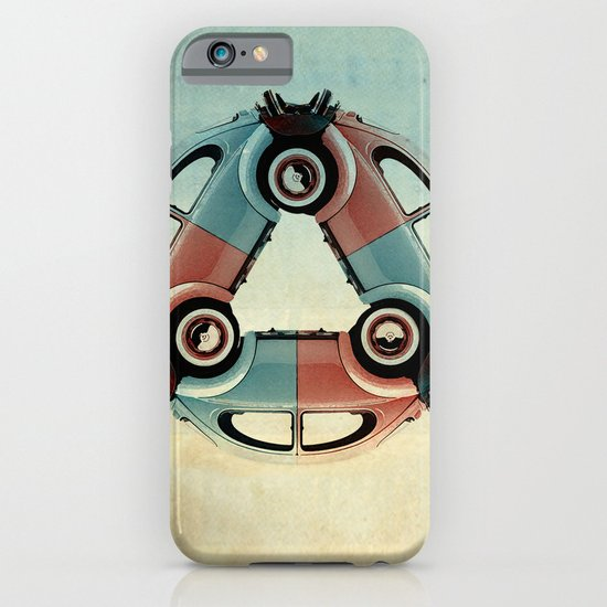 back end triangle - Bug iPhone & iPod Case