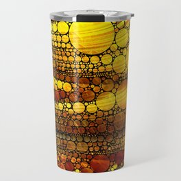 Golden Sun Strata Travel Mug