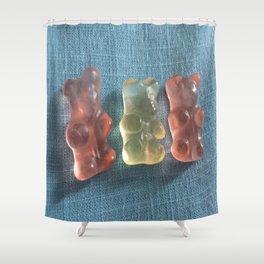 3 Little Bears Shower Curtain