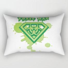 Toxic Man Rectangular Pillow