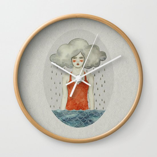 Aglaura Wall Clock