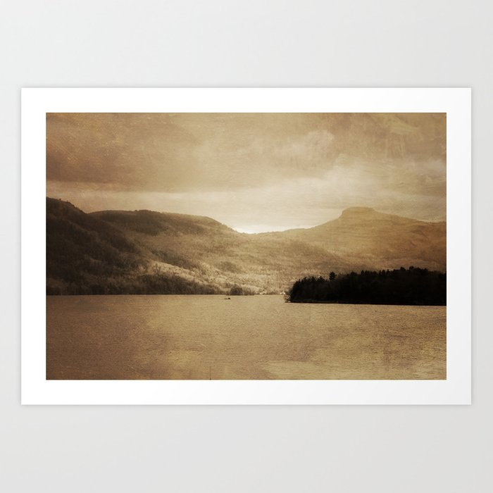 Lake George II Art Print