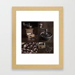 Vintage Coffee Grinder  Framed Art Print