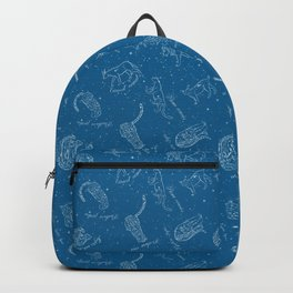 Big Cats Constellations (Light Blue Sky) Backpack