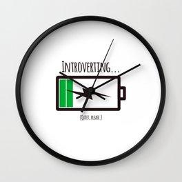 Introverting Wall Clock