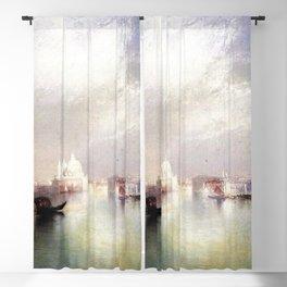The Splendor of Venice, Italy landscape painting by Thomas Moran Blackout Curtain