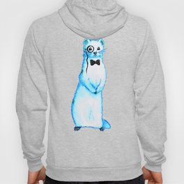 White Ferret Gentleman Hoody