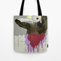 monroe Tote Bags featuring Monroe by ODDITY