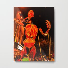THE PUPPET OF THE THEATRE Metal Print