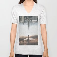 Between Earth & City Unisex V-Neck