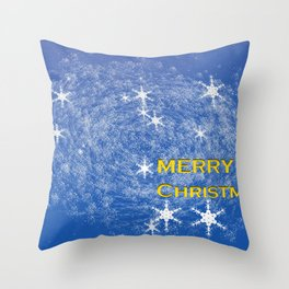 Concept Chtristmas : Christmas greetings Throw Pillow