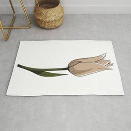 Tulip Flower Rug