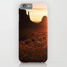 Sunrise in Monument Valley iPhone 6s Slim Case