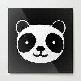 Racing Panda Metal Print