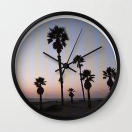 Summer in a Circle Wall Clock