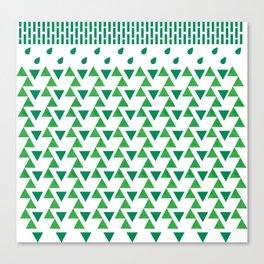 it's always green  Canvas Print