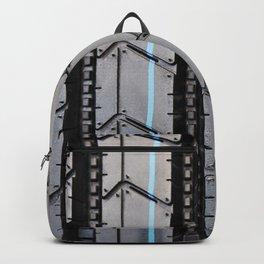 Tread pattern truck tire Backpack