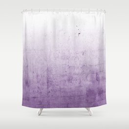 Radiant Orchid Purple Ombre Shower Curtain