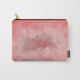 pink tone background Carry-All Pouch