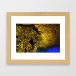 Sung Sot Cave Framed Art Print