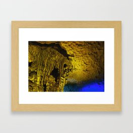 Sung Sot Cave Framed Art Print