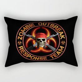 Zombie Response Team Rectangular Pillow