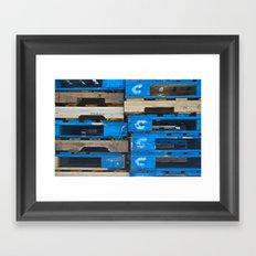 Stacked Together Framed Art Print