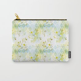 Oasis Floral Pattern Carry-All Pouch